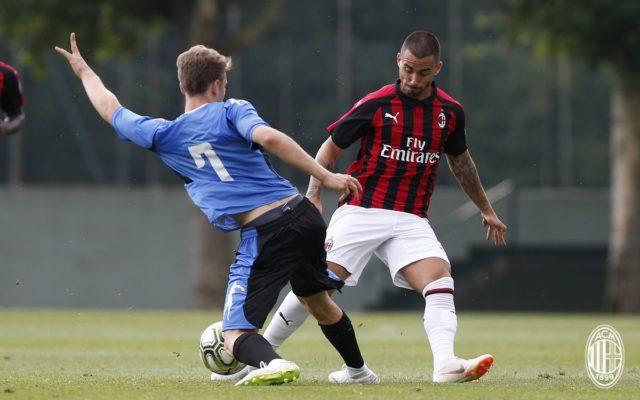 Il Milan brinda all'Europa con due reti al Novara