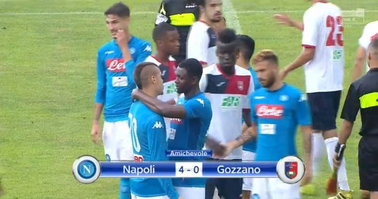 Gozzano a testa alta, contro un buon Napoli