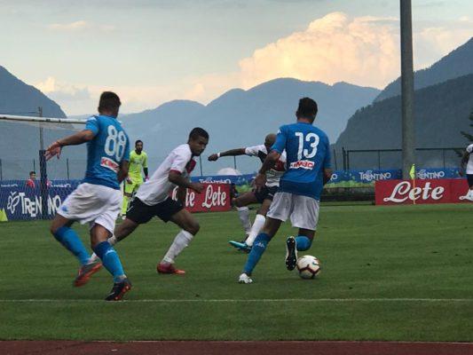 Napoli-Gozzano 4-0