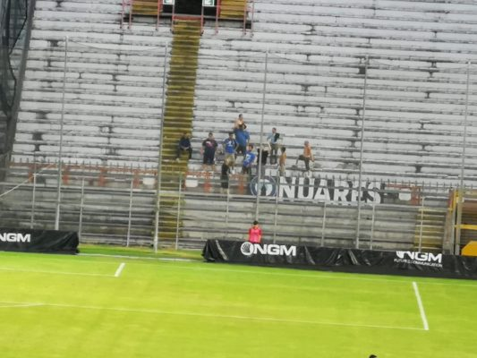 Perugia-Novara 1-3 Coppa Italia