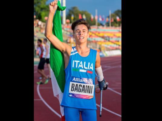 Bronzo nei 200: Riccardo Bagaini orgoglio novarese