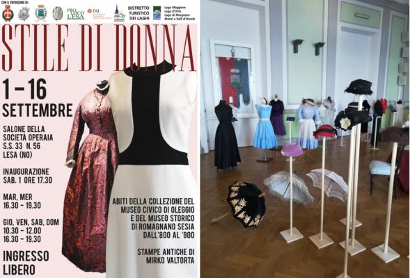 """""""Stile di Donna"""" viaggio nell'evoluzione della moda"""