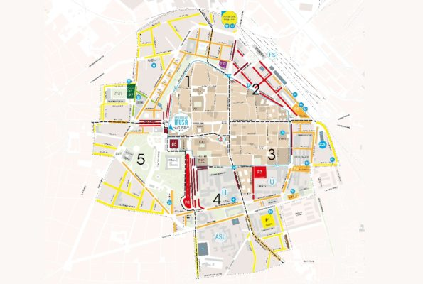 Il centro di piazza Donatello si rifà il look