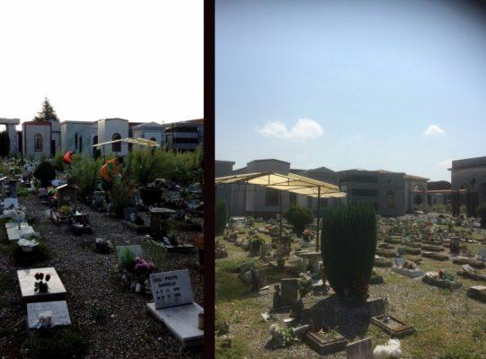 I lavoratori dei progetti sociali, per il decoro del cimitero