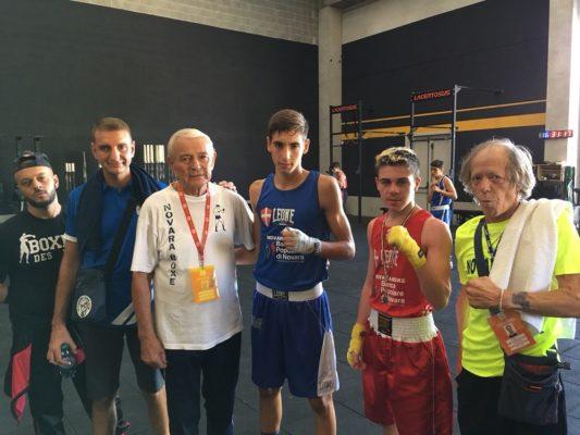 Lopez Marra Novara Boxe