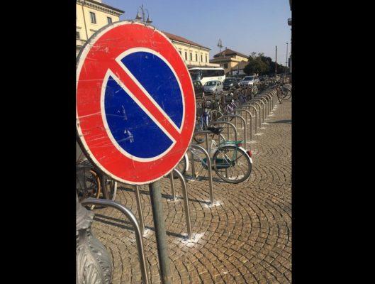 stralli biciclette stazione Novara