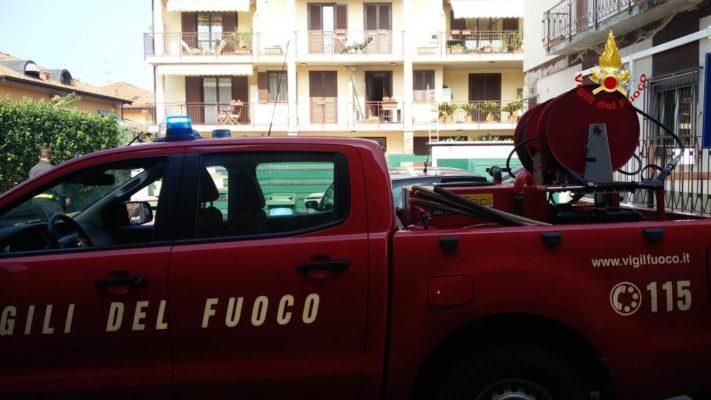 anziano morto appartamento Castelletto Ticino