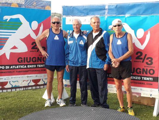 Nuovi record agli italiani per l'intramontabile Nacca