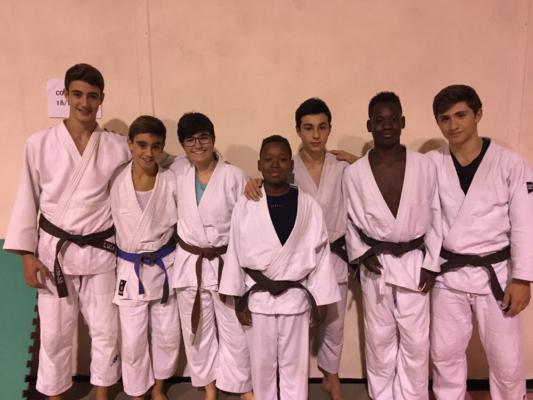 Centro Judo Novara reduce dal Trofeo Italia a L'Aquila