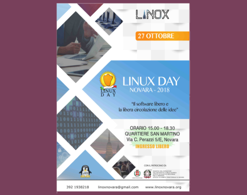 Linux Day Novara software libero