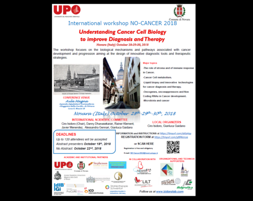 No cancer convegno Novara contro cancro