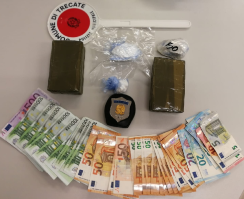 sequestro arresto droga Trecate