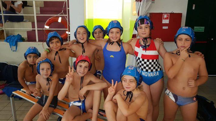"""Gli Under 11 e 13 """"bagnano"""" la stagione di Waterpolo Novara"""
