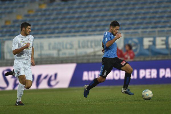 Novara-Arezzo 2-2 serie C
