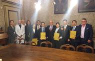 Terminato al Maggiore lo stage di cinque medici cinesi