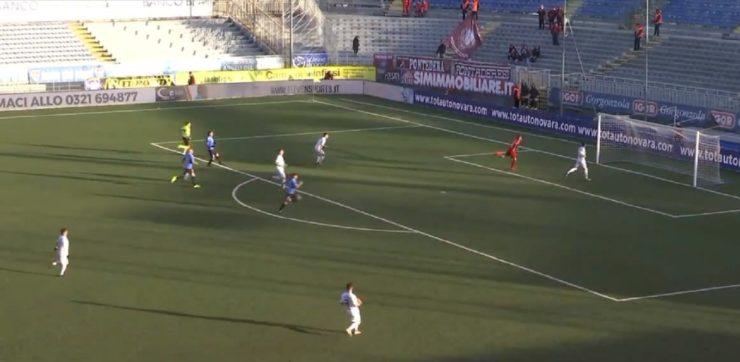 Serie C Lega Pro girone A Novara calcio Gozzano