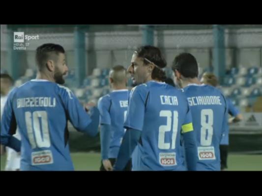 Cacia segna, Buba gestisce: il Novara batte l'Albissola e riscatta l'andata