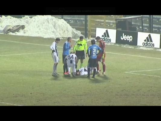 Il Novara regala un'ora alla Juve. Cacia su rigore riprende Kastanos, finisce 1-1