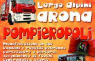 """Arona, con """"Pompieropoli"""" bambini vigili del fuoco per un giorno"""