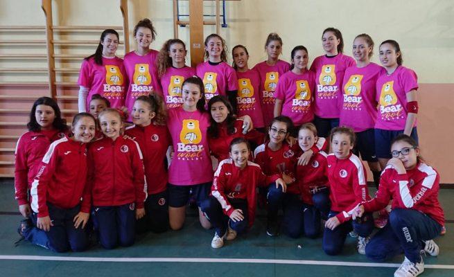 Le ragazze U18 e U13 della Pallavolo Scurato al Torneo Internazionale Bear Wool di Biella