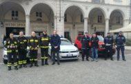 Trecate dona una nuova attrezzatura ai Vigili del fuoco di Novara
