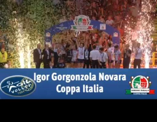 Igor Novara Imoco Conegliano 3-2 Coppa Italia
