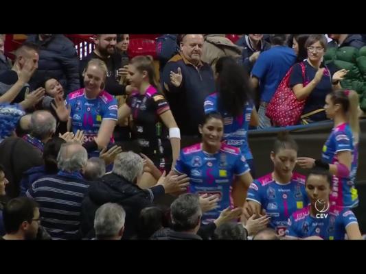 Igor Volley Novara Minsk 3-0