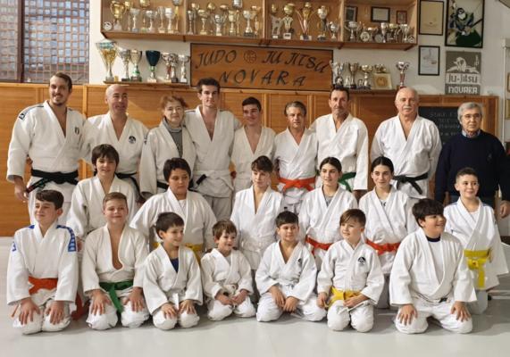 Judo Ju Jitsu Novara esami grado cintura