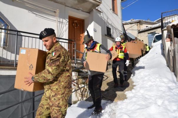 Esercitazione in Abruzzo per i militari di Bellinzago