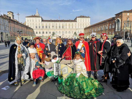 Re Biscottino in trasferta al carnevale di Torino