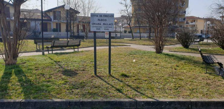 Intitolazione parco a Oriana Fallaci