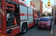 Incendio in via Torelli, lievi intossicati