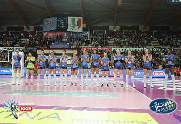 Novara batte Busto 3-0 e torna a correre anche in campionato