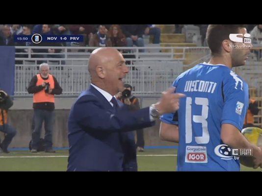 Effetto SAnNINO. Cuore, coraggio e buona sorte: Novara batte Pro Vercelli 2-1