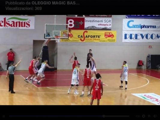 Basket B girone A Mamy.eu Oleggio Varese 70-71