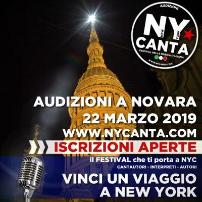 A Novara le selezioni per il festival italiano di New York