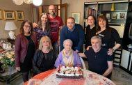 Novara, gli auguri dell'amministrazione alla centenaria Maria