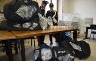 Novara, 7 arresti e 500 chili di droga sequestrati dai carabinieri