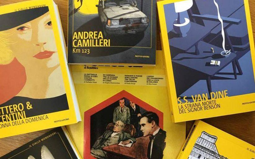 Festa per i 90 anni del Giallo Mondadori in biblioteca a Novara
