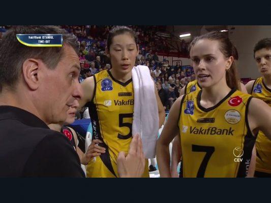 IGOR GORGONZOLA NOVARA – VAKIFBANK ISTANBUL 2-3 Champions semifinale paola egonu