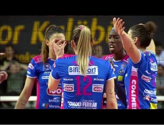 Novara batte Scandicci 3-1 e pareggia la serie. A Pasquetta ancora in campo al Pala Igor