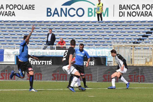 Novara-Siena 2-2. Ancora Gonzalez ed Eusepi nel recupero, blindano il 9° posto