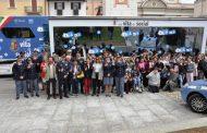 Studenti novaresi in piazza a Cameri imparano i rischi dei social