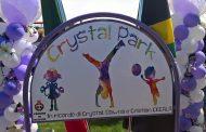 Oleggio, inaugurato il parco giochi intitolato alla piccola Crystal