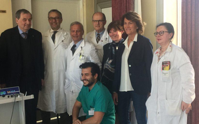 Il Rotary dona un'apparecchiatura all'ospedale di Borgomanero