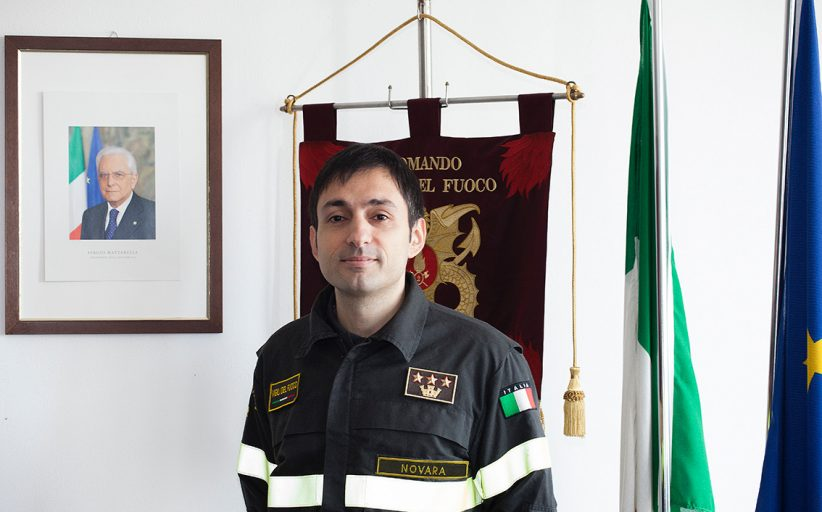 Si insedia lunedì il nuovo comandante dei vigili del fuoco