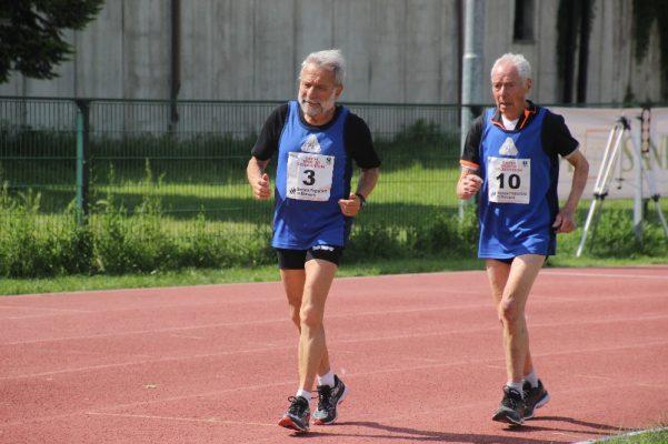 Antonio Nacca record mondo 5000 Meeting Dellomodarme Amatori Master Novara