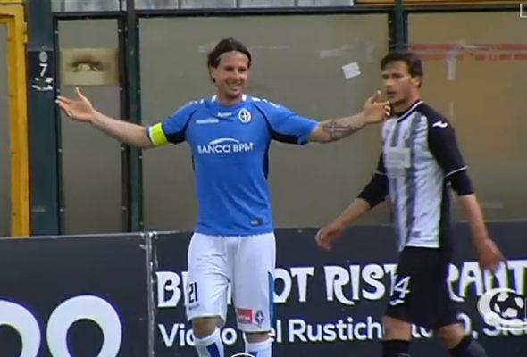 play-off Robur Siena Novara 0-1 serie C