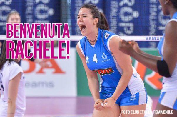 Arriva Rachele Morello, Novara pesca entusiasmo e gioventù dal Club Italia