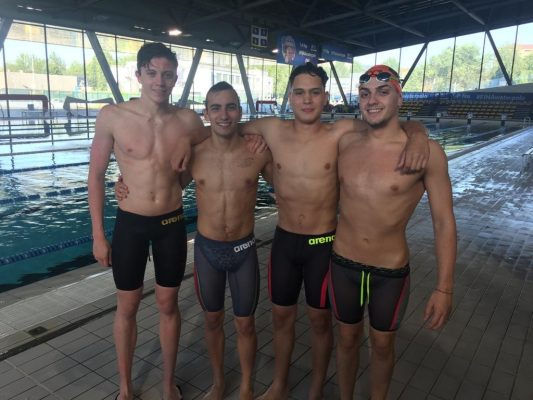 Libertas Nuoto Novara Coppa Tokio Grossini Zanellini